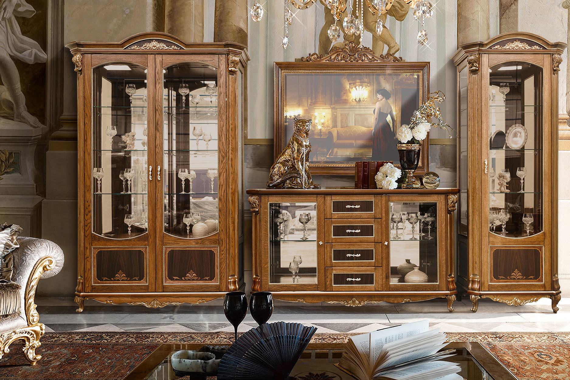 Как правильно подобрать мебель для гостиной